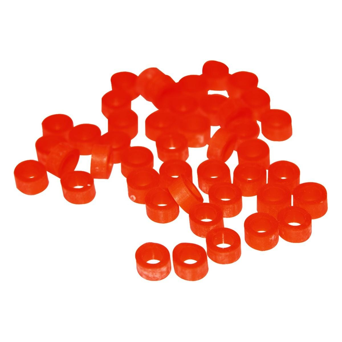 Instrument Code Rings Orange 50pk