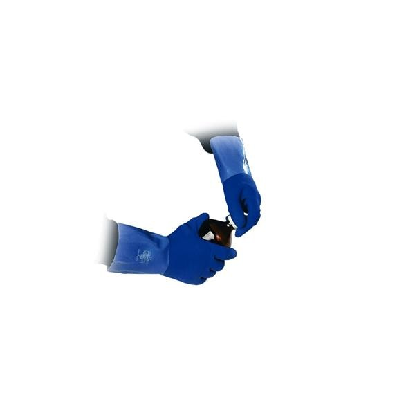 Gloves Taskmaster Blue Size8 1Pair