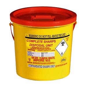 Sharps Box 7Ltr Collection Doop
