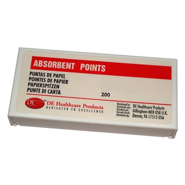 DEHP Paper Points Assorted 45-80 200pk