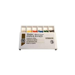 HS Maxima Paper Points Assorted 15-40 200pk