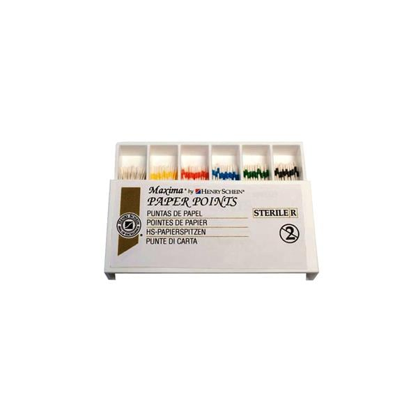 HS Maxima Paper Points Assorted 45-80 200pk