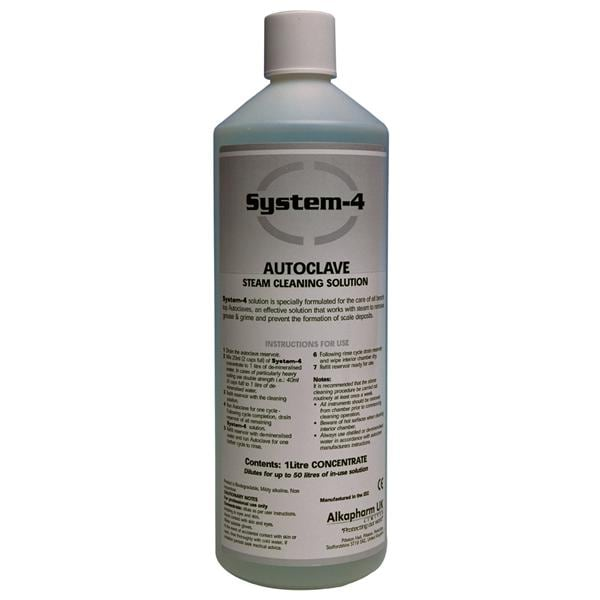 System 4 Autoclave Cleaning Solution 1Ltr