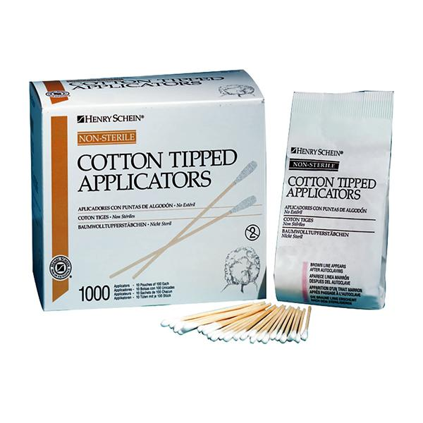 HS Cotton Tip Applicators 15cm Non-Sterile 1000pk