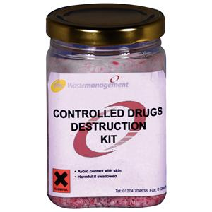 Controlled Drugs Destruction Kit 250ml