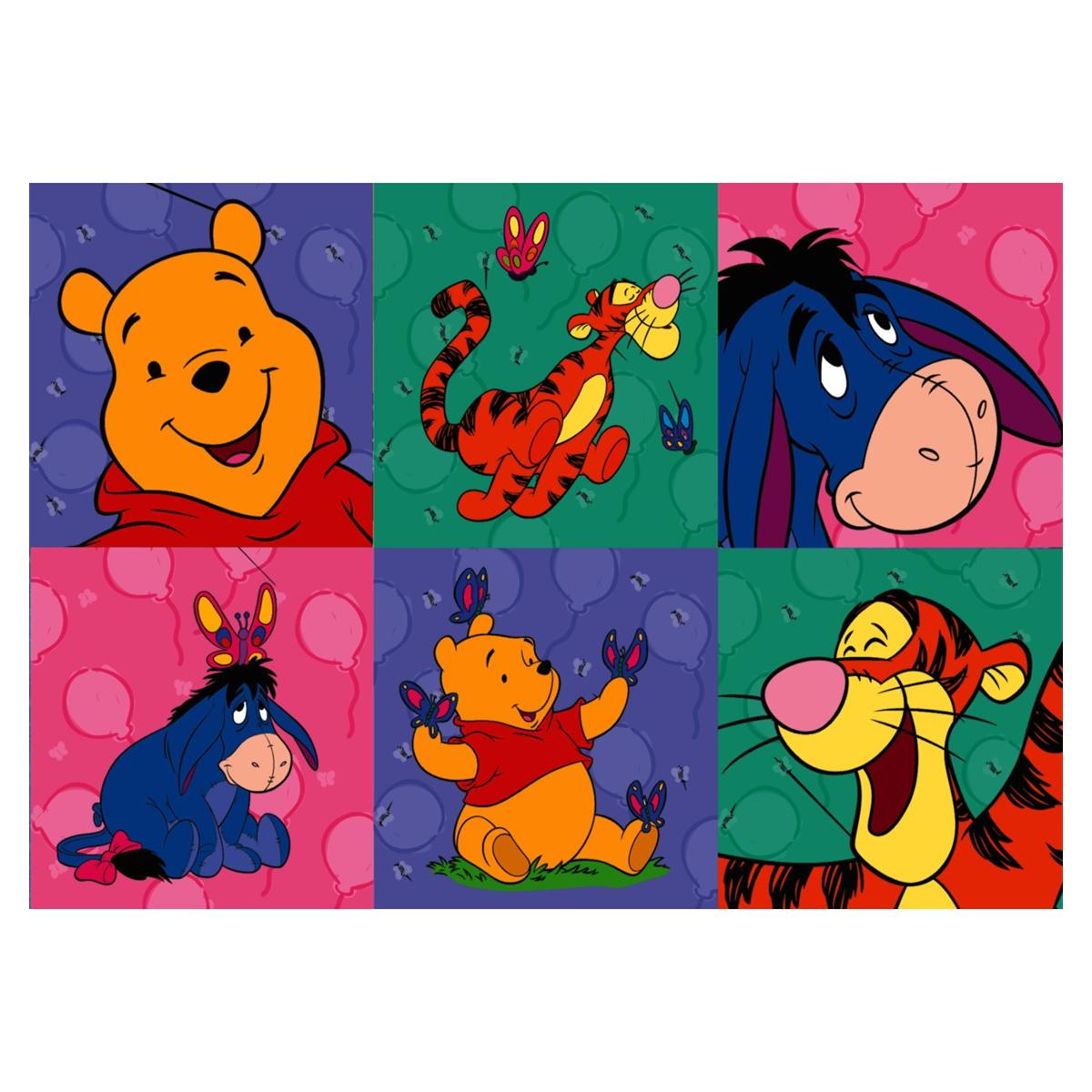 Stickers Winnie The Pooh 100pk