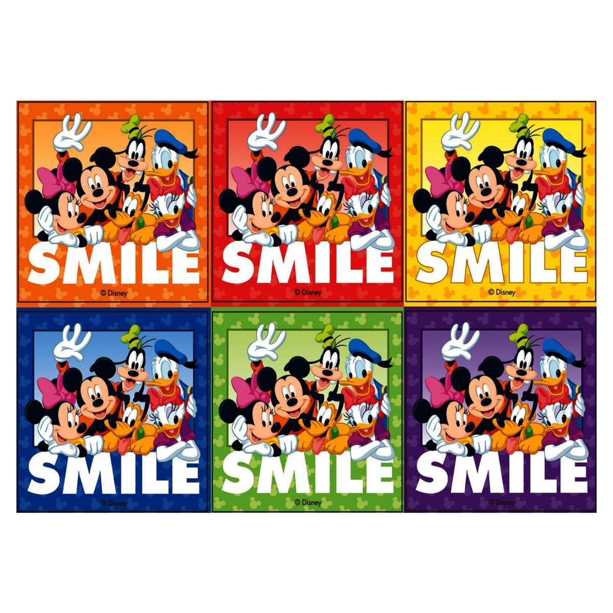 Stickers Disney Smile 100pk