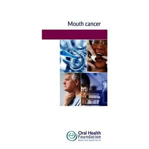 BDHF Leaflets Mouth Cancer 100pk