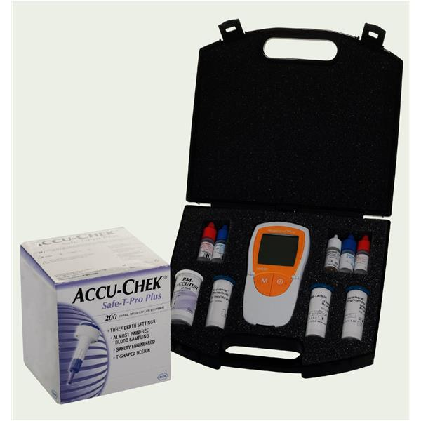 Accutrend® Plus-Glucose, Cholesterol, Triglycerides & Lactate Kit