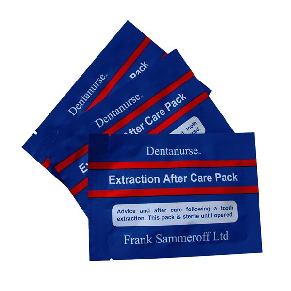 Extraction After Care Pack 100/Pk