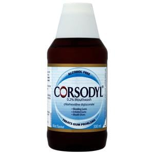 Corsodyl Mouthwash Alcohol Free 300ml
