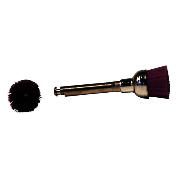 HS Prophy Brush RA Latex-Free Purple Medium 100pk