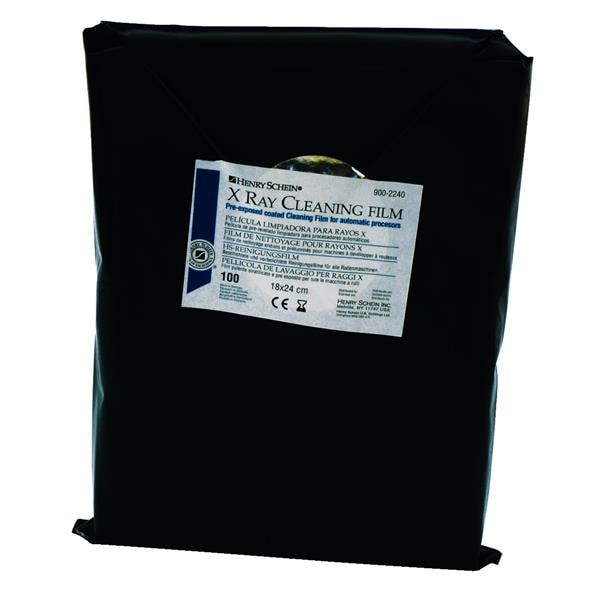 HS X-Ray Cleaning Films 18x24cm 100pk