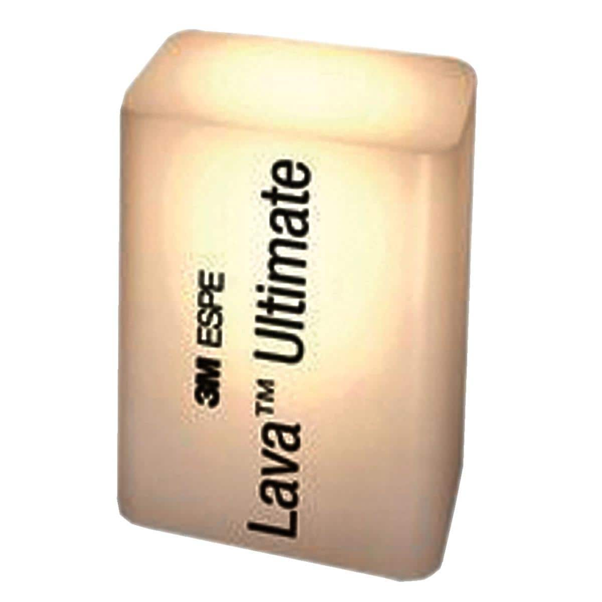 Lava Ultimate CAD/CAM Block for CEREC (HT) High Translucency Shade A3 Size I12 5pk