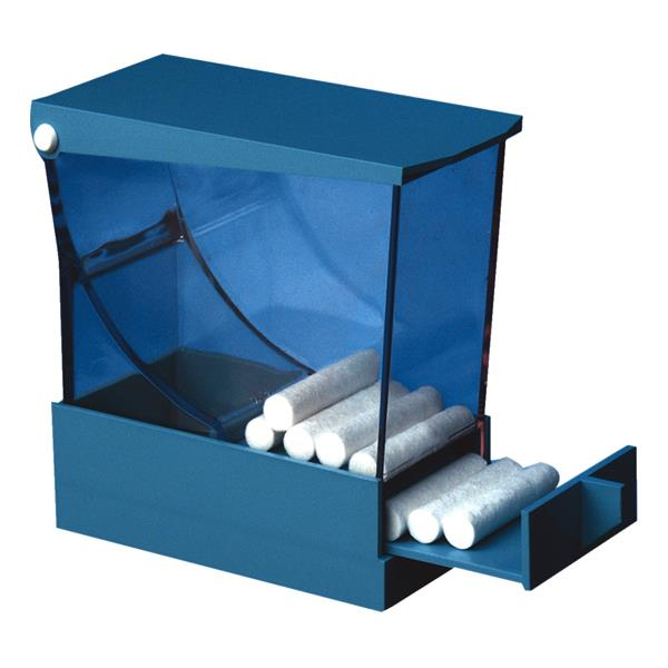HS Cotton Roll Dispenser with Drawer Blue