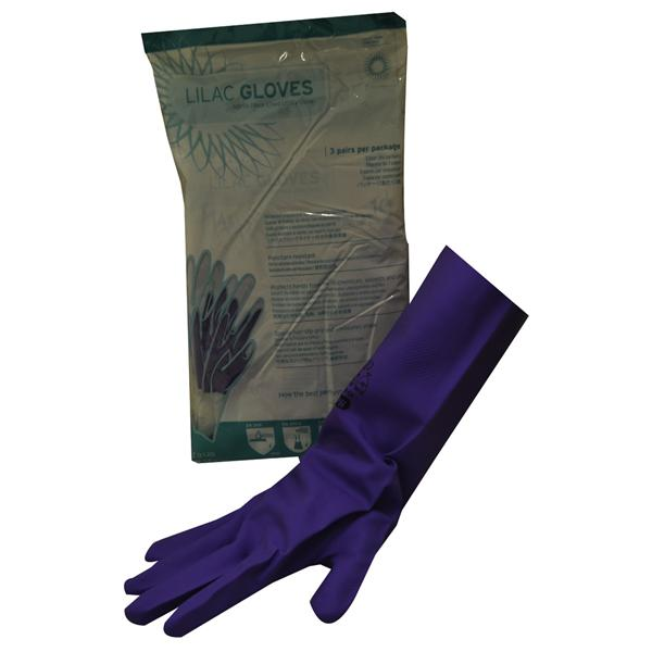 IMS Lilac Nitrile Utility Gloves Medium 8 3pk
