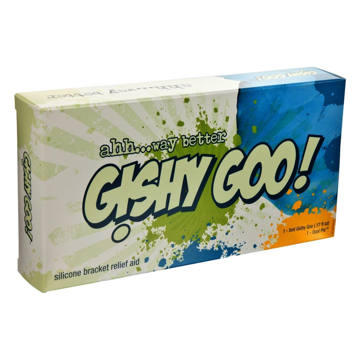 Gishy Goo! One Patient Kit Tooth Coloured 10pk