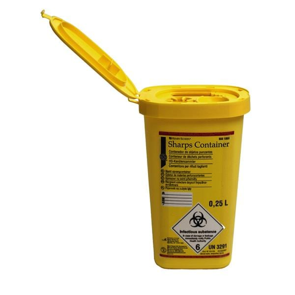 HS Sharps Container 0.25L