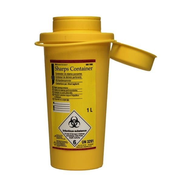 HS Sharps Container 1L
