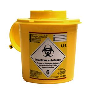 HS Sharps Container 1.5L
