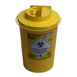 HS Sharps Container 2.2L