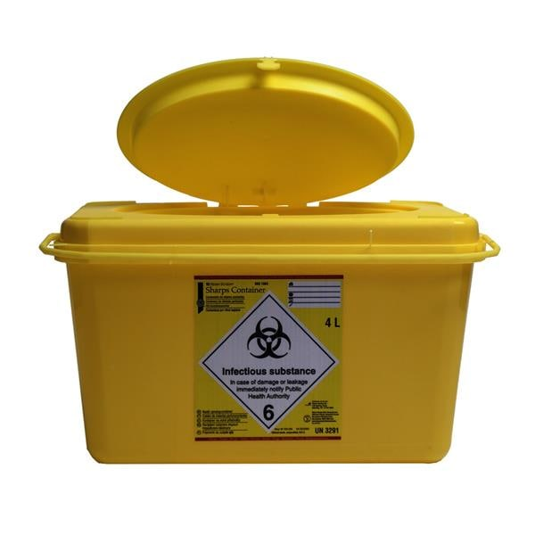 HS Sharps Container 4L