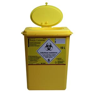 HS Sharps Container 6L