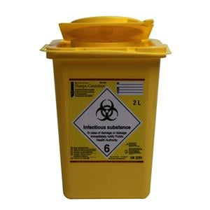 HS Sharps Container 10L