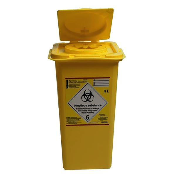 HS Sharps Container 3L