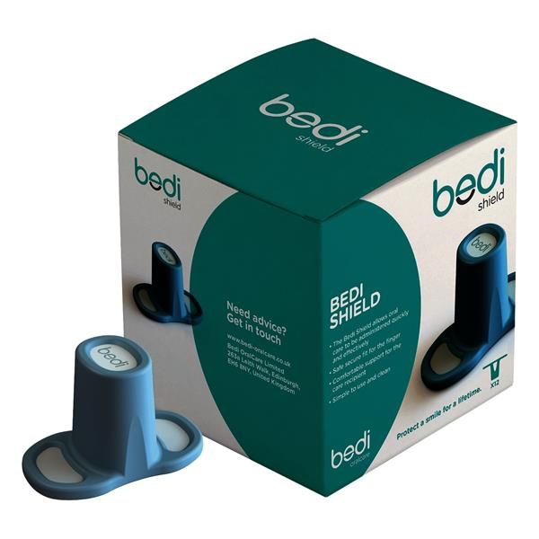 Bedi Shield Dental Finger Aid 12pk