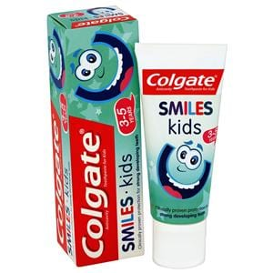 Colgate Toothpaste Smiles Kids 3-5 Years 50ml 12pk