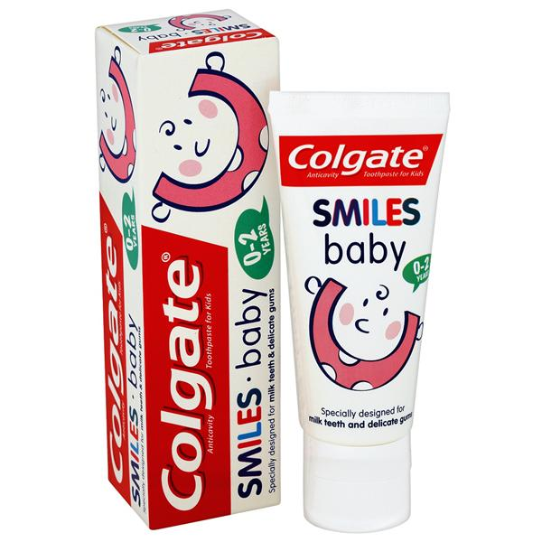 Colgate Toothpaste Smiles Baby 0-2 Years 50ml 12pk