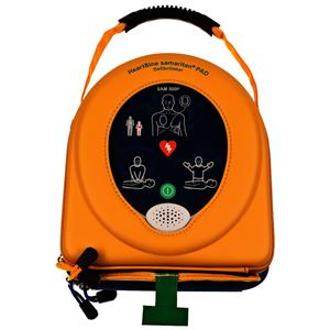HeartSine Samaritan 350P Semi-Automatic Defibrillator Bronze Pack includes Wall Cabinet