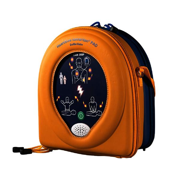 HeartSine Samaritan 360P Fully  Automatic Defibrillator Bronze Pack includes Wall Cabinet