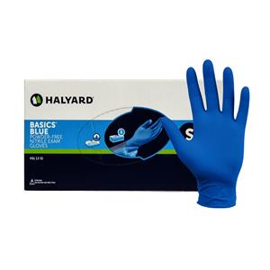 Basics Blue Nitrile Exam Gloves XSmall 200pk