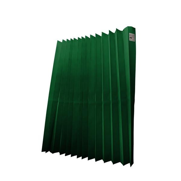 HS Disposable Curtains 4.2x2m Drop Dark Green