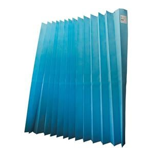 HS Disposable Curtains 4.2x2m Drop Sky Blue