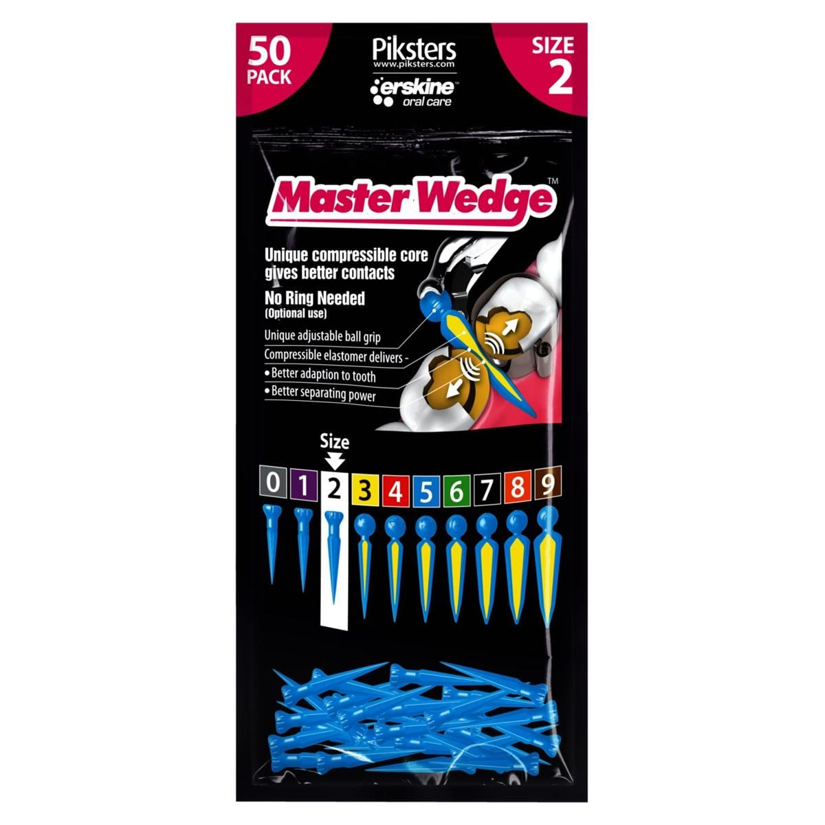 Master Wedge Refill Bag Size 2 50pk