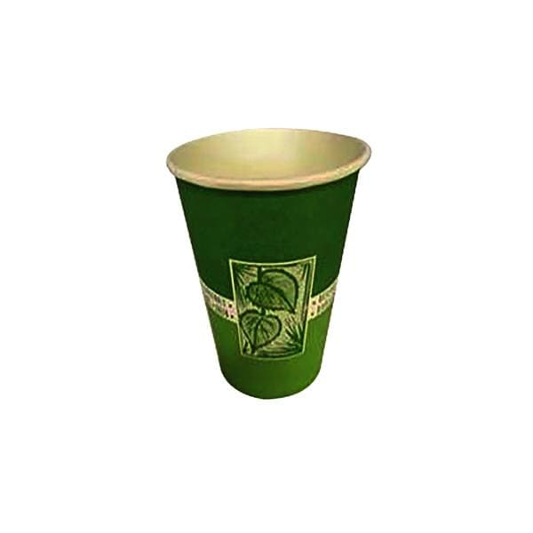 Paper Cups PLA 180ml Green Single Wall Biodegradable 2610pk - Environmentally Friendly