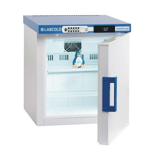 Labcold RLDF0119DIGLOCK Bench Top 36L Solid Door Pharmacy Refrigerator with Digital Lock