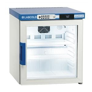 Labcold RLDG0119 Bench Top 36L Glass Door Pharmacy Refrigerator with Digital Lock