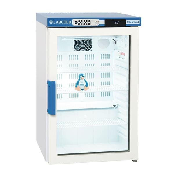 Labcold RLDG0219DIGLOCK Bench Top 66L Glass Door Pharmacy Refrigerator with Digital Lock