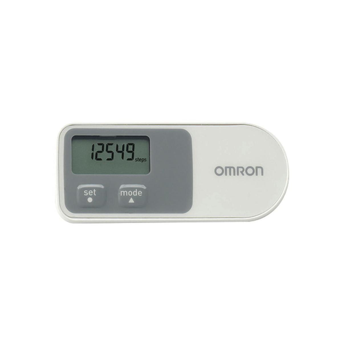 Omron Pedometer White