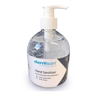 Dentigel 75 Alcohol Based Gel Hand Disinfect 500ml