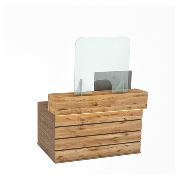 Reception Counter Screen 78x80cm - shipped direct, lead time 7-10 days - non-returnable.