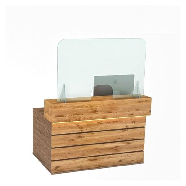 Reception Counter Screen 120cm x80cm -  shipped direct, lead time 7-10 days - non-returnable.
