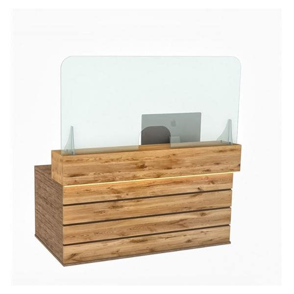 Reception Counter Screen 160x80cm -shipped direct, lead time 7-10 days - non-returnable.
