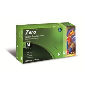 Aurelia Zero Nitrile Powder Free Examination Gloves Large - Box of 200