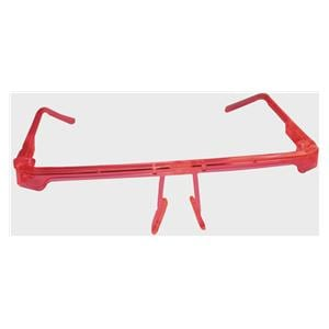 DEHP Face Shield Visor Frame Red + 6 Visors