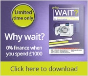 Why wait? 0% finance when you spend �1000